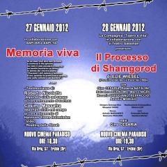 giornata della memoria,2012,partigiani,martina franca,taranto,mai più,petali di libertà,deportati,deportazione,olocausto,shoah,anpi