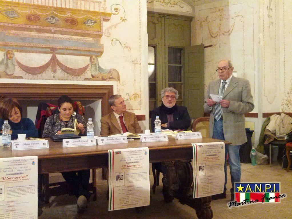 """foto 11 - Presentazione del libro """"il Sovversivo"""" - Sala degli Uccelli - Palazzo Ducale (30/11/2013)"""