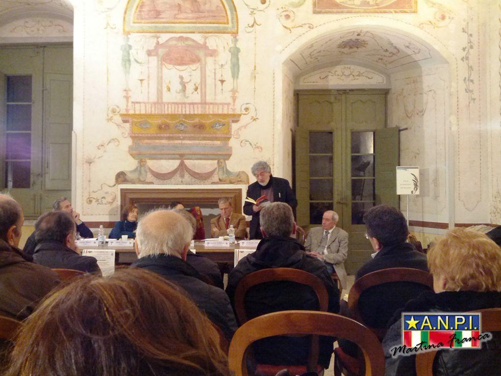 """foto 13 - Presentazione del libro """"il Sovversivo"""" - Sala degli Uccelli - Palazzo Ducale (30/11/2013)"""