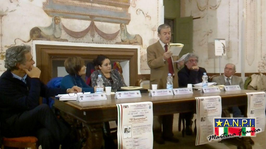 """foto 18 - Presentazione del libro """"il Sovversivo"""" - Sala degli Uccelli - Palazzo Ducale (30/11/2013)"""