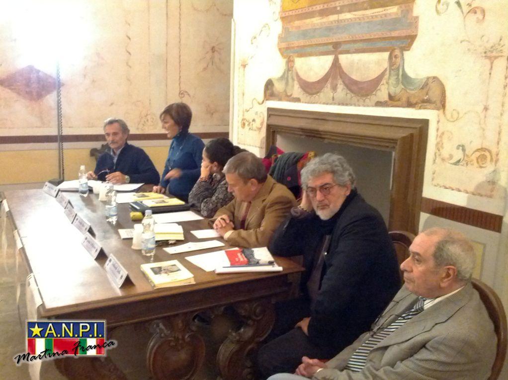 """foto 5 - Presentazione del libro """"il Sovversivo"""" - Sala degli Uccelli - Palazzo Ducale (30/11/2013)"""