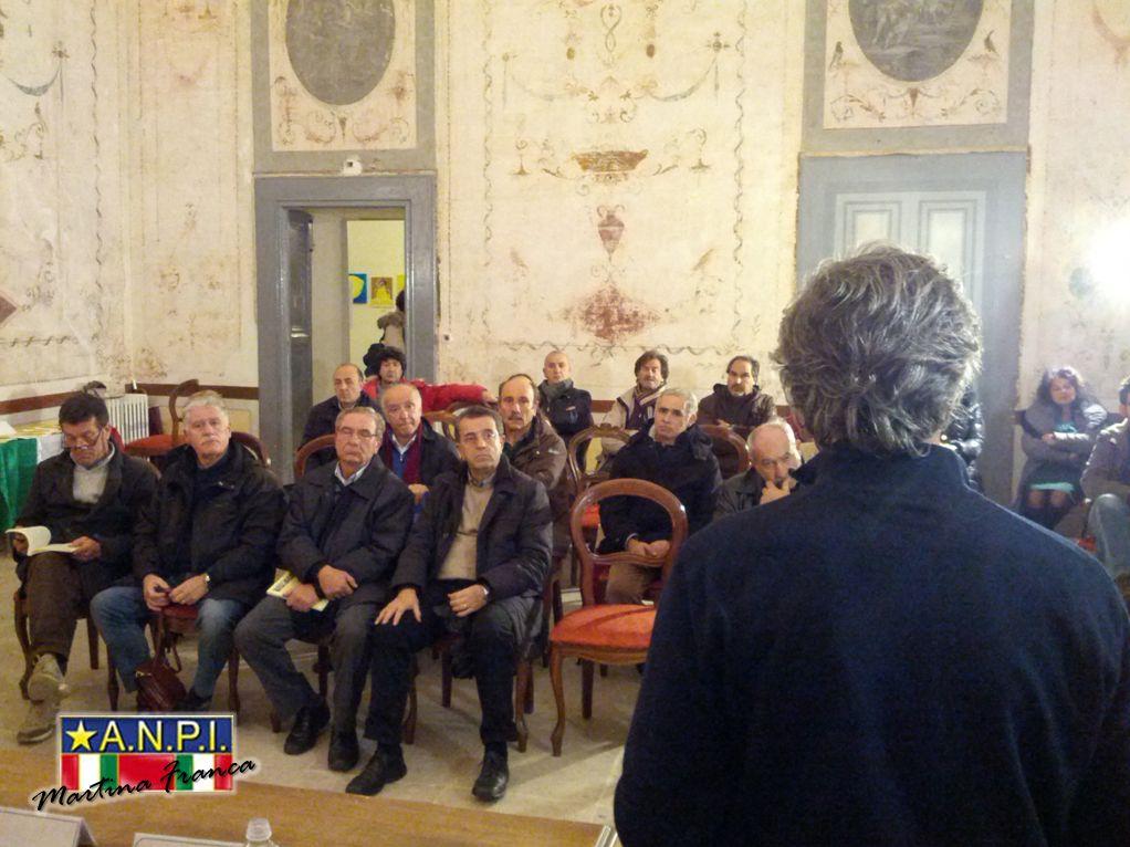 """foto 7 - Presentazione del libro """"il Sovversivo"""" - Sala degli Uccelli - Palazzo Ducale (30/11/2013)"""